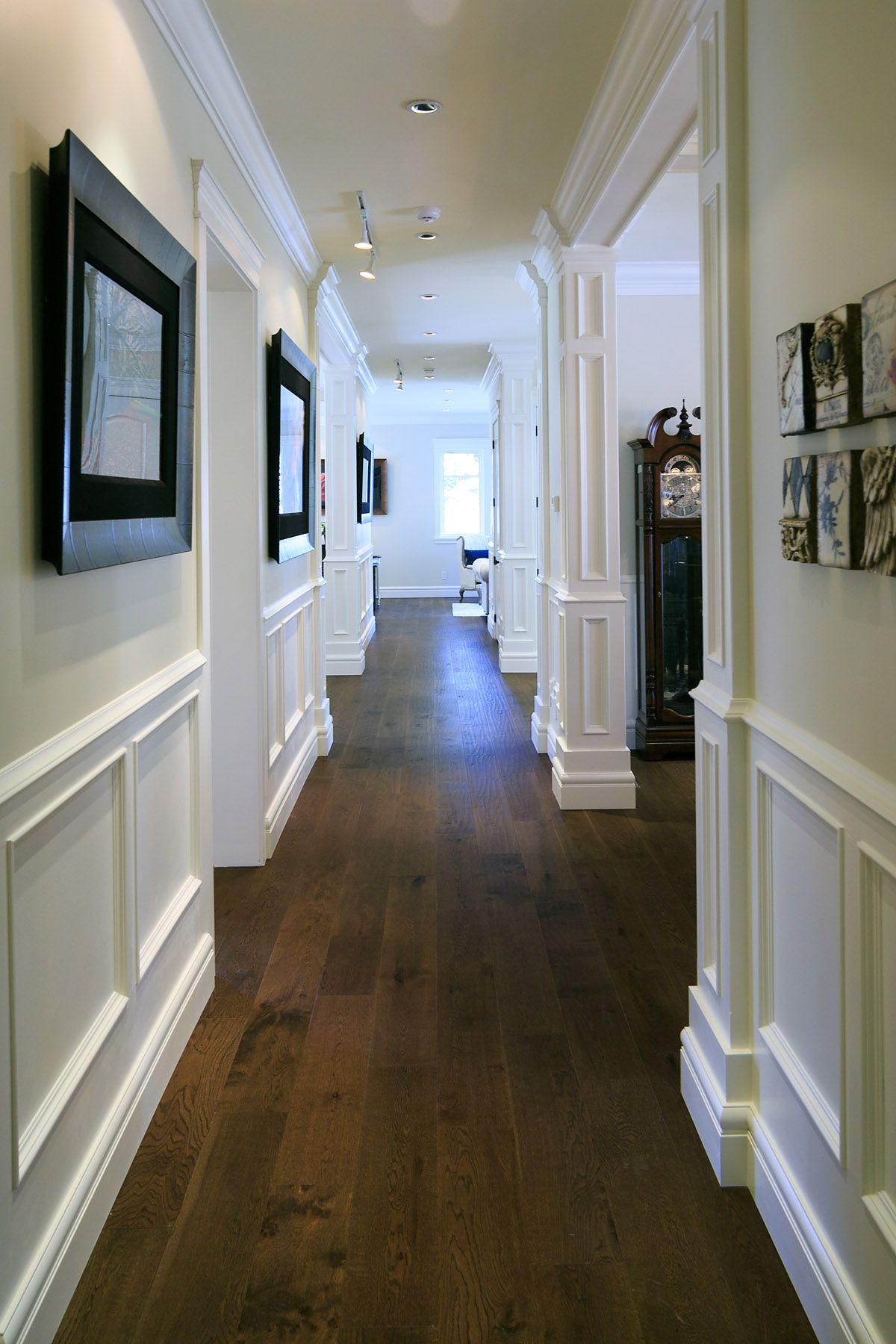 Hallways Hardwood Wainscotting Casa De Chattanooga