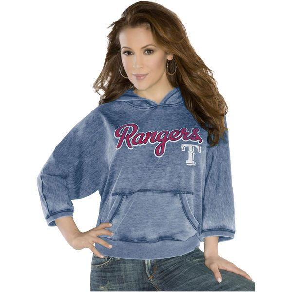Touch By Alyssa Milano Texas Rangers Women S Star Player Pullover Hoodie Navy Blue Boston Red Sox Women Touch By Alyssa Milano Red Hoodie