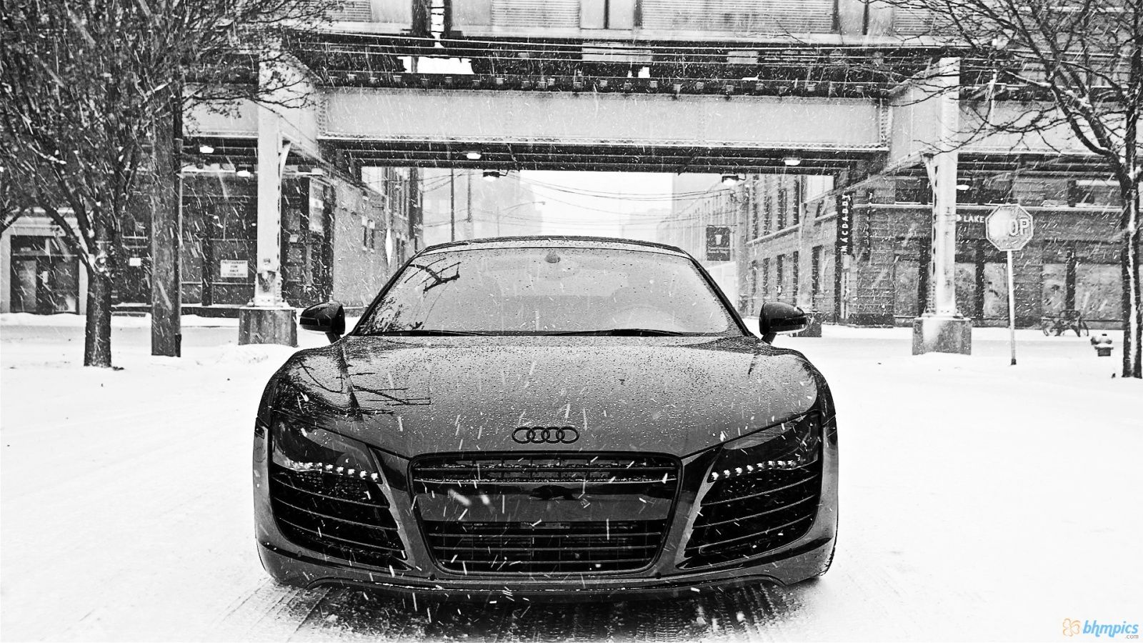 Audi R8 In The Snow Super Car Racing Dream Cars Sports Cars Luxury