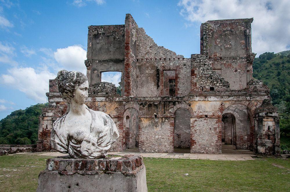 The Palace of Sans Souci Outside Cap Haitien, Haiti