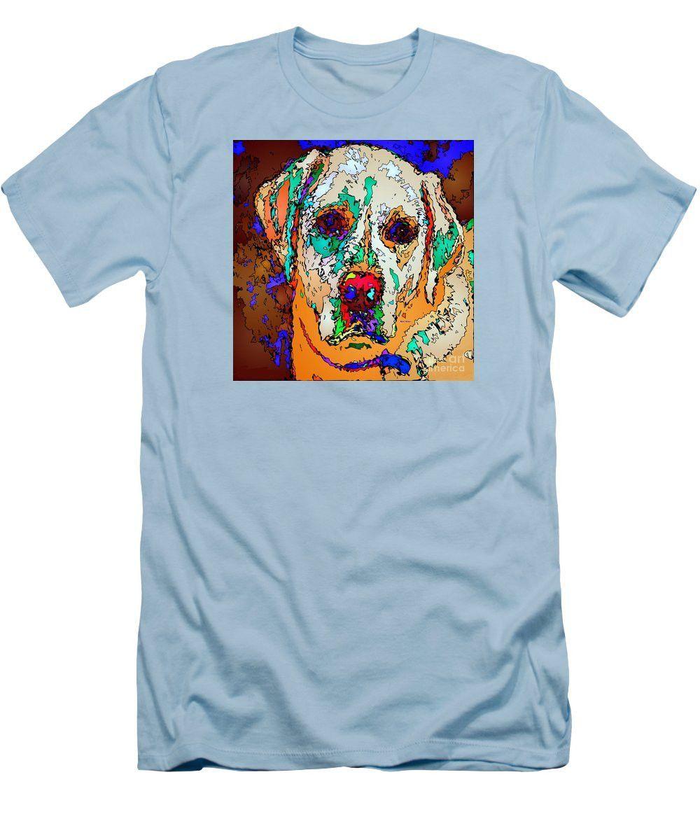 Men's T-Shirt (Slim Fit) - I Love You. Pet Series