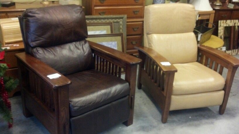 Ethan Allen leather recliners