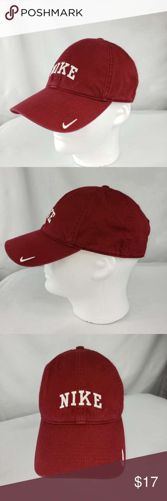 0275a11072d Maroon Nike Hat Good Condition