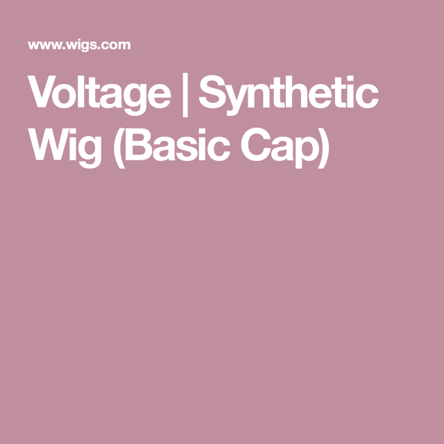 Voltage   Synthetic Wig Basic Cap Gallery