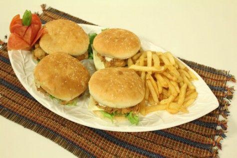 Kfcs Zinger Burger Recipe Official Masala Tv Fast Food Latest