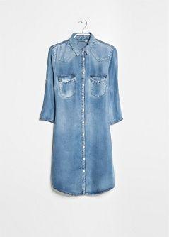 Robe tencel soft - Femme   Dans ma valise de vacances   Pinterest ... 9764c2492984