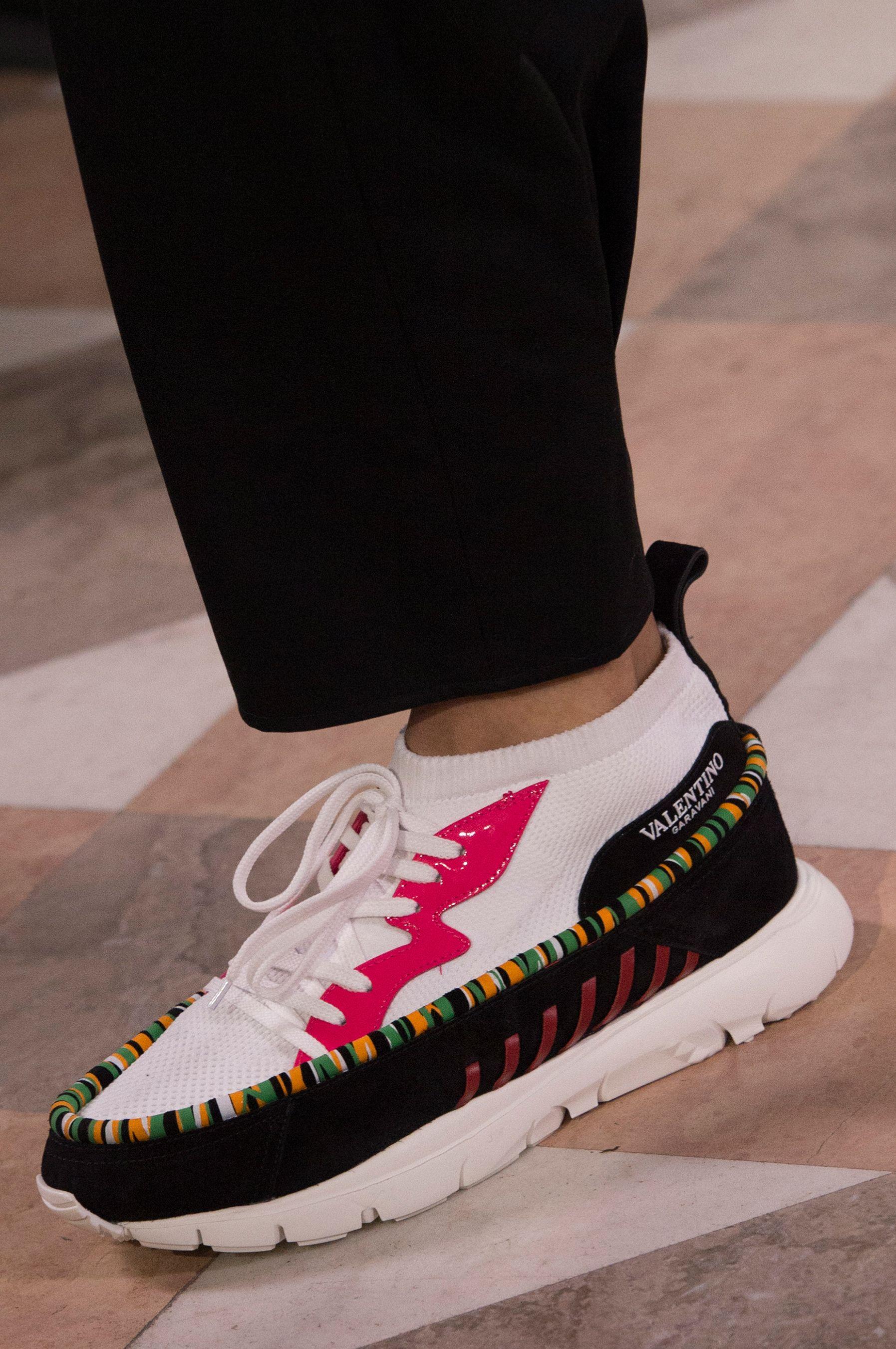 Men fashion show, Sneakers fashion