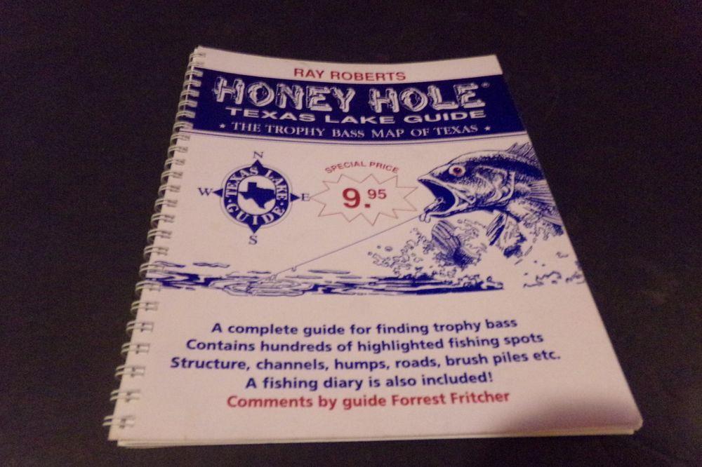 Vintage Honey Hole Texas Lake Guide Lake Ray Roberts