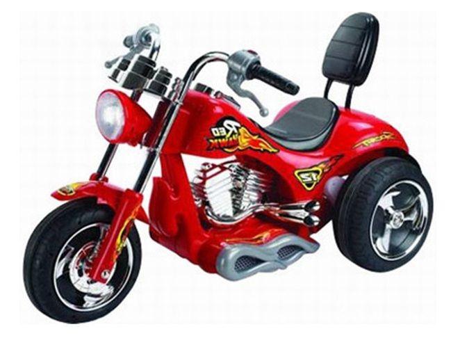 RojaTriciclos MotosTriciclo 12v Y Harley Moto Davidson Niños 3Sc4ALRq5j