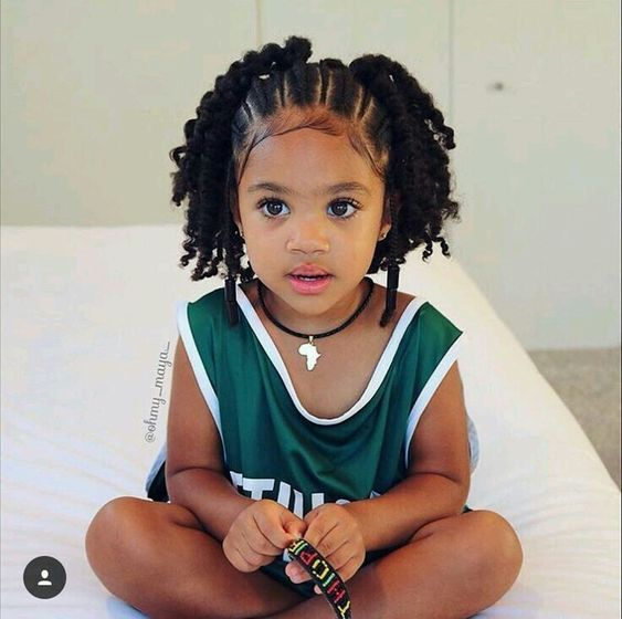 Braided Hairstyles For Kids With Images Black Kids Hairstyles