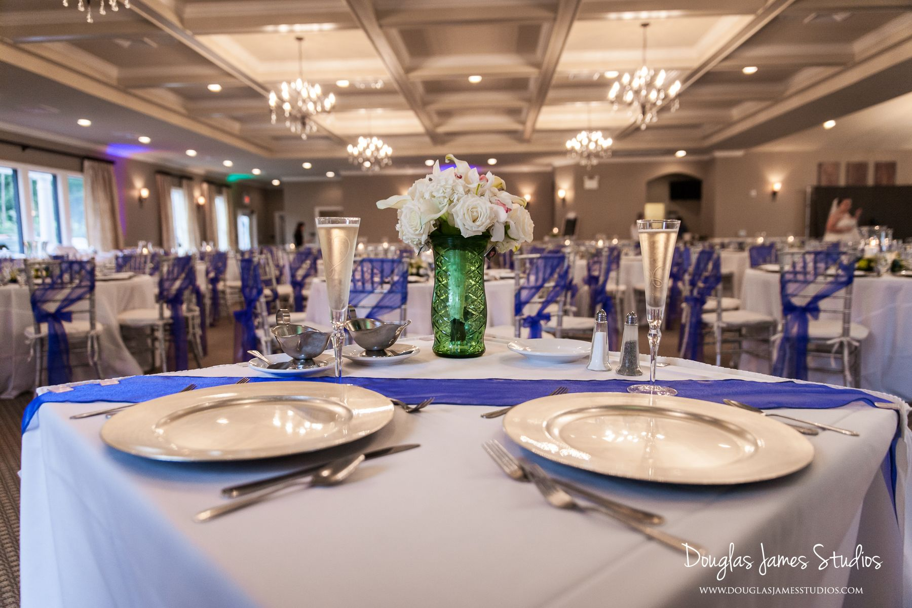 Love The Colors Of This Wedding At Sand Springs Country Club Blue