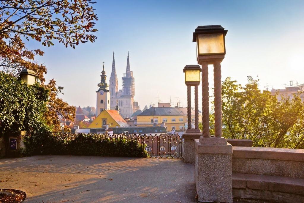 Zagrab A Ket Varos Zagreb Croatia Zagreb Croatia