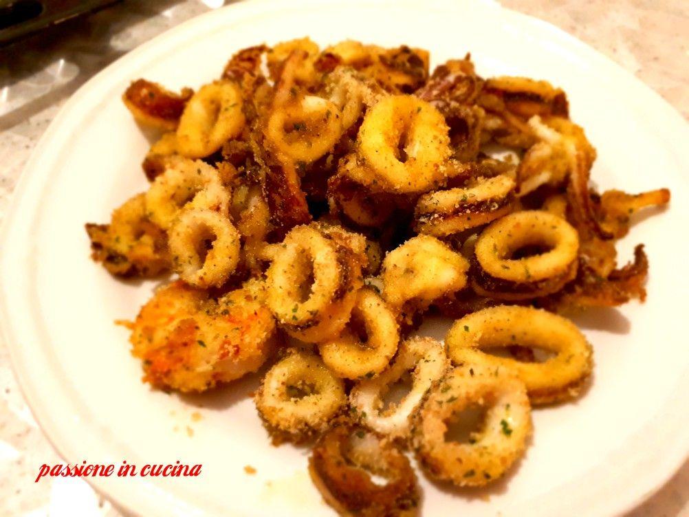 Calamari Fritti Al Forno Ricetta Facile E Veloce E Senza Odore Di