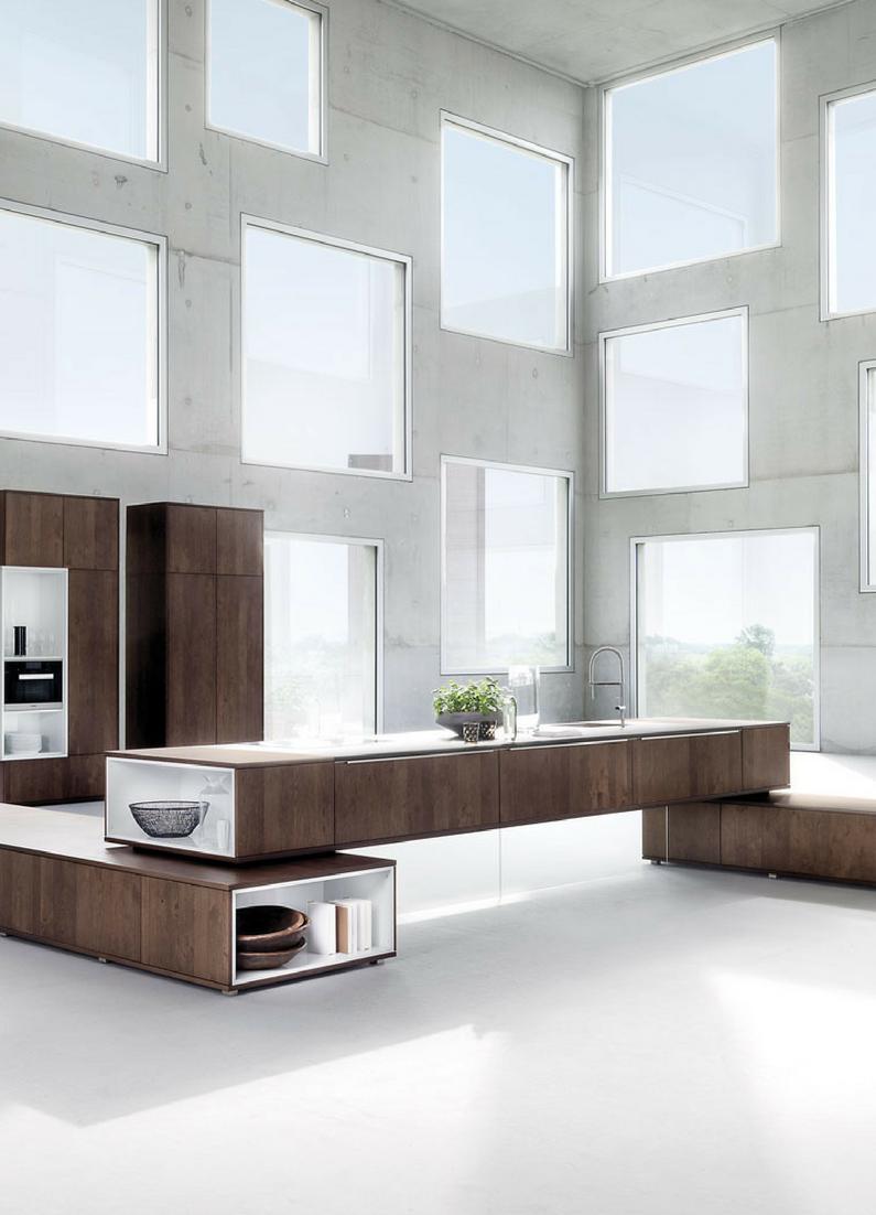 Kochinsel, Kücheninsel, Design, Loft Wohnung, Loft, Loftküche, Küche, Modern