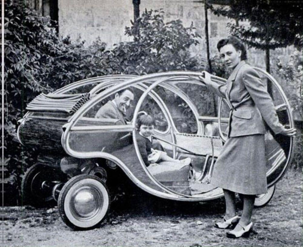 Galerie Archive: Un siècle de bricolage véhiculaire | Science populaire #conceptcars #concept #cars #mini #concept #car
