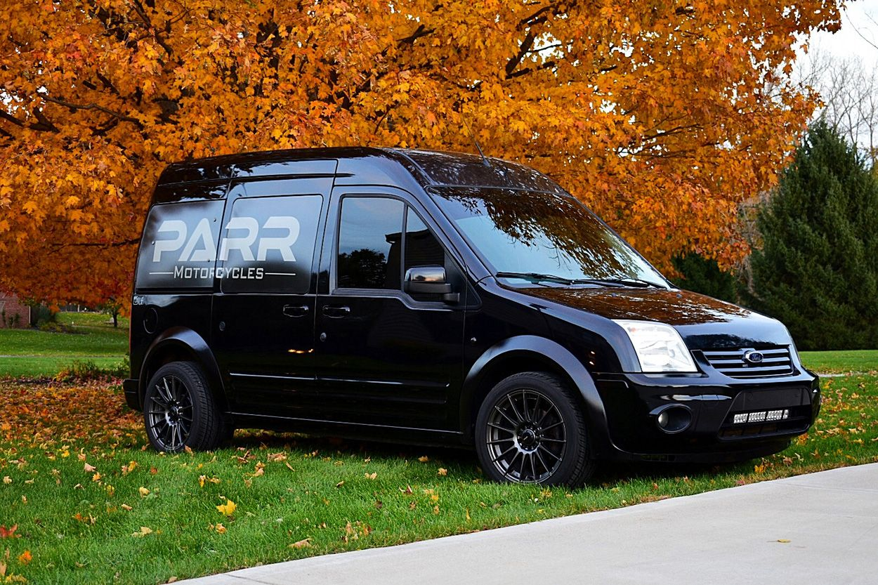 Moto Van Custom Ford Transit Connect By Parr Motorcycles Ford