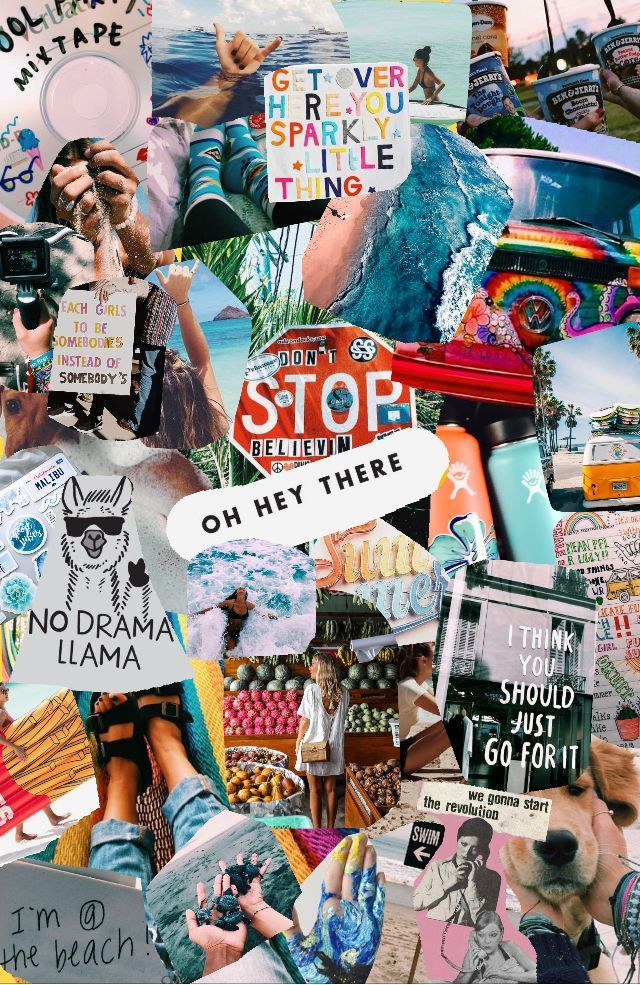 Wallpers Collage Hintergrund Niedliche Hintergrundbilder