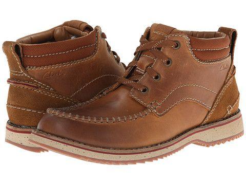 a2d2266fa4cf44 Clarks Mahale Mid Dark Brown Nubuck - Zappos.com Free Shipping BOTH Ways