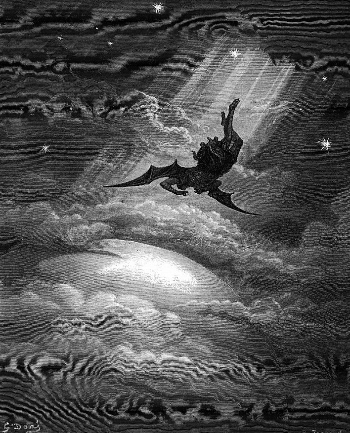 Gustave Dore - The Fall