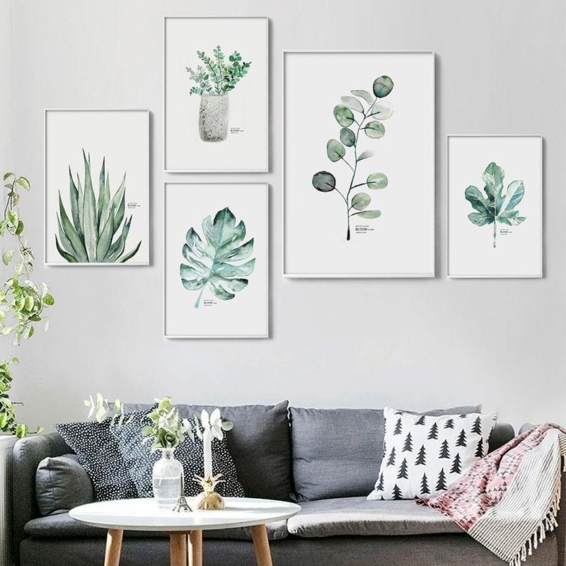 Plant Watercolor Art -   14 minimalist planting Art ideas