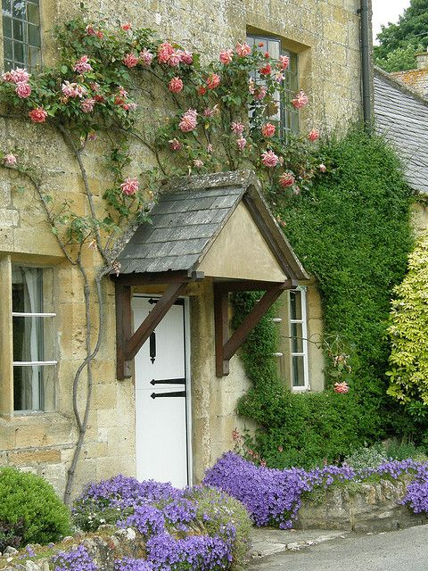 Stanton cottages, Gloucestershire, England