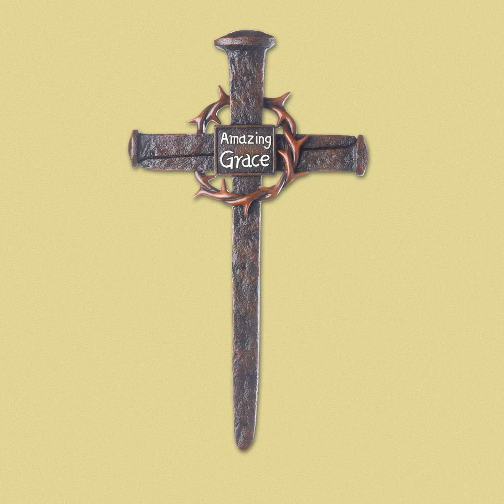 Crown of thorns nail cross | Pinterest