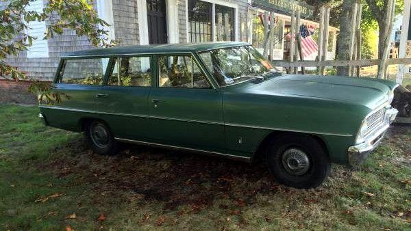 Garaged Runner: 1966 Chevy II Nova Wagon | Wagon, Chevy, Nova