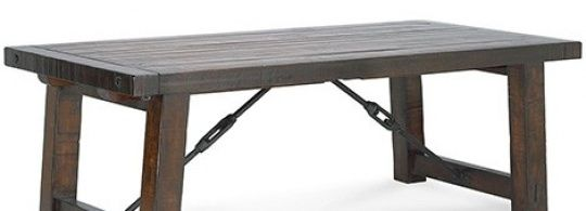 Distressed Wood Dining Table From Pottery Barn New Industrial - Pottery barn distressed dining table
