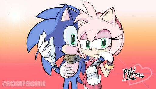 Sonic and amy rose