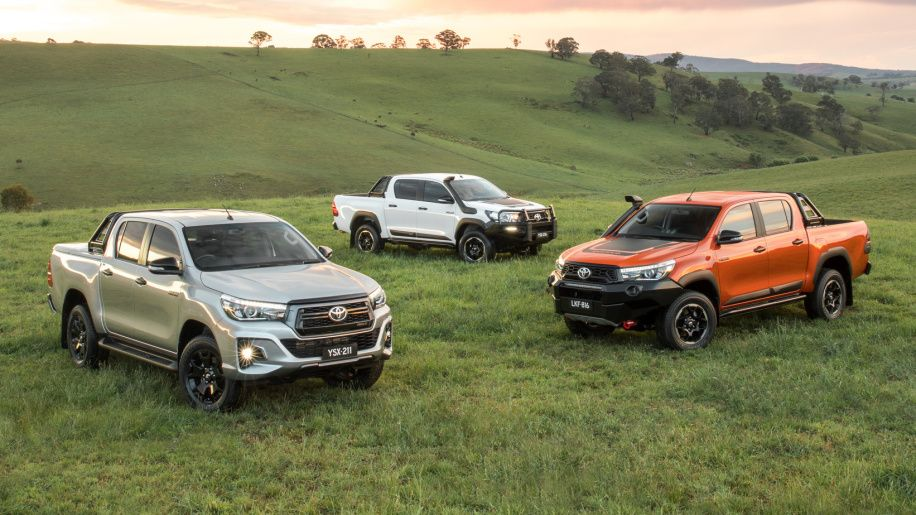 Toyota Hilux gets toughlooking Rugged X, Rugged and Rogue