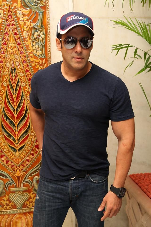 It was a privilege to welcome #bollywood actor Salman Khan, at the Taj Mahal Hotel, New Delhi.