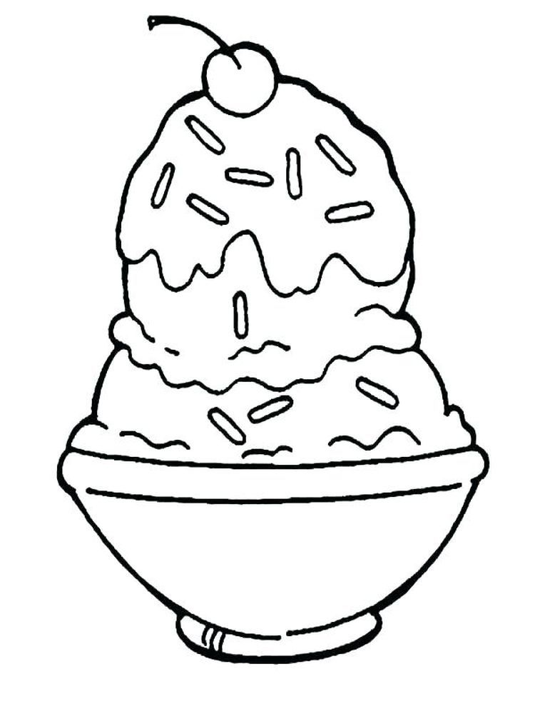 Ice Cream Coloring Pages To Print Free Below Is A Collection Of Easy Ice Cream Coloring Page Which You C Ice Cream Coloring Pages Ice Cream Art Easy Ice Cream