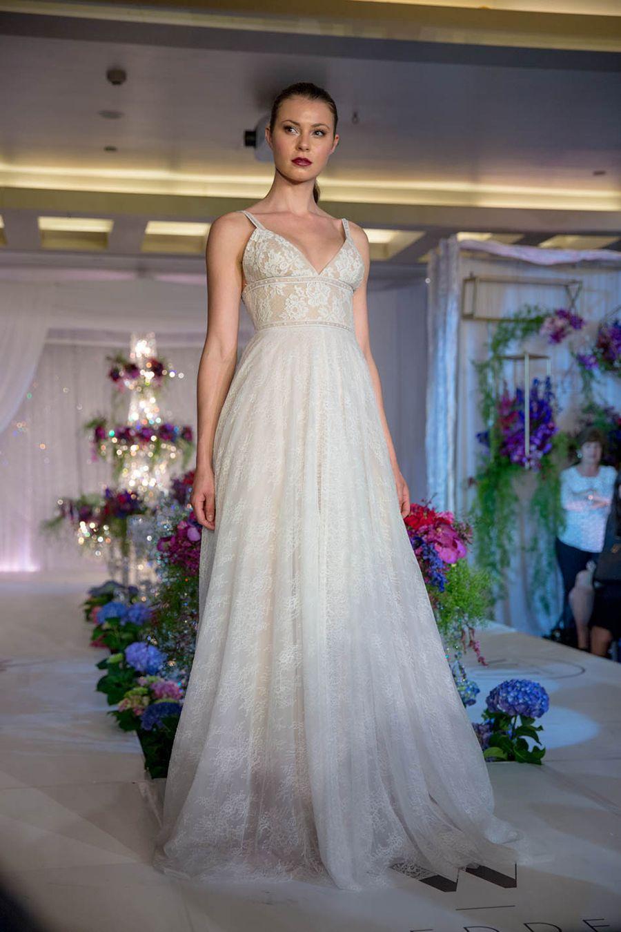 Fiber optic wedding dress  Stepping Into a Wedding Wonderland The Bridal Bazaar  Part