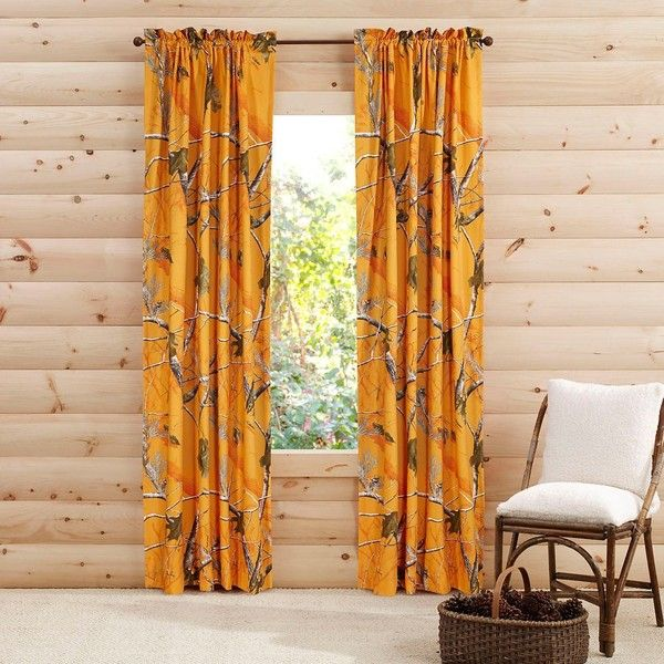 Realtree® Brights Camo Collection 84-Inch Window Panel Pair ($34) ❤ liked on Polyvore featuring home, home decor, window treatments, curtains, outdoor window treatments, camouflage curtains, outdoor drapery, camo curtains and set of 2 curtain panels