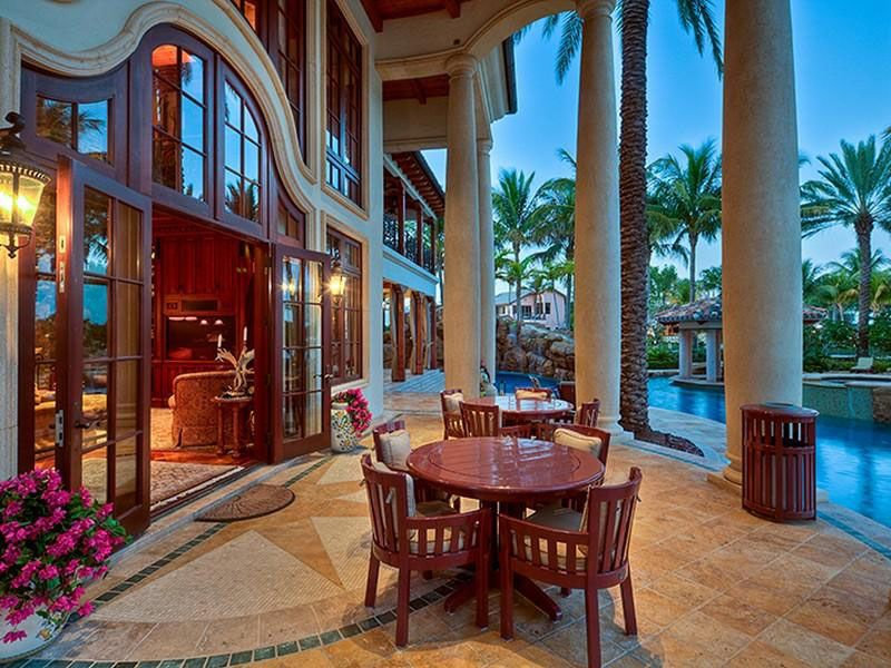Mediterranean Style Estate In Fort Lauderdale FL W Sq Ft - Before and after from a mediterranean house fort lauderdale