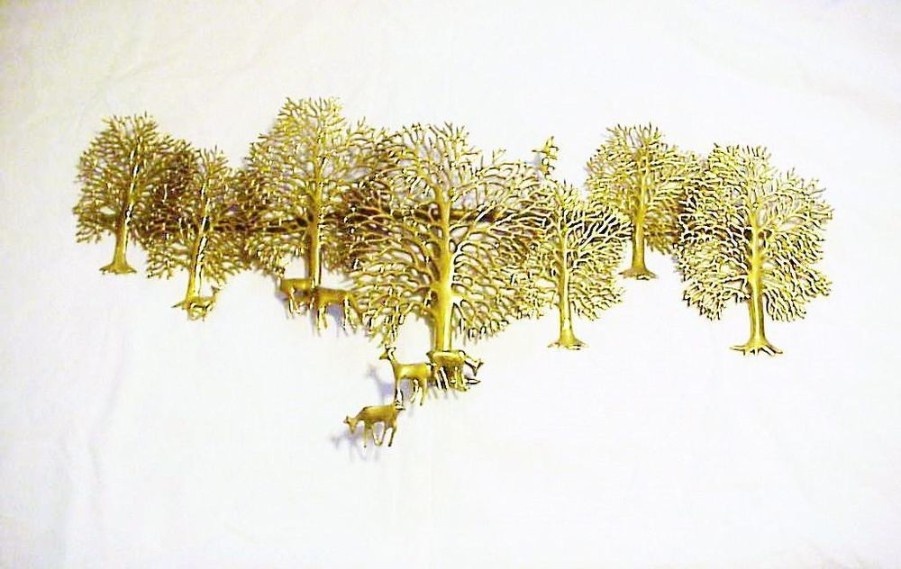 Northern Passages | Brass metal, Wall sculptures and Mid century