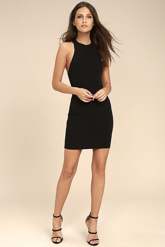 7e7646e4e5a The Dance Night Black Bodycon Dress can t wait to hit the dance floor on a  Friday night! This sexy