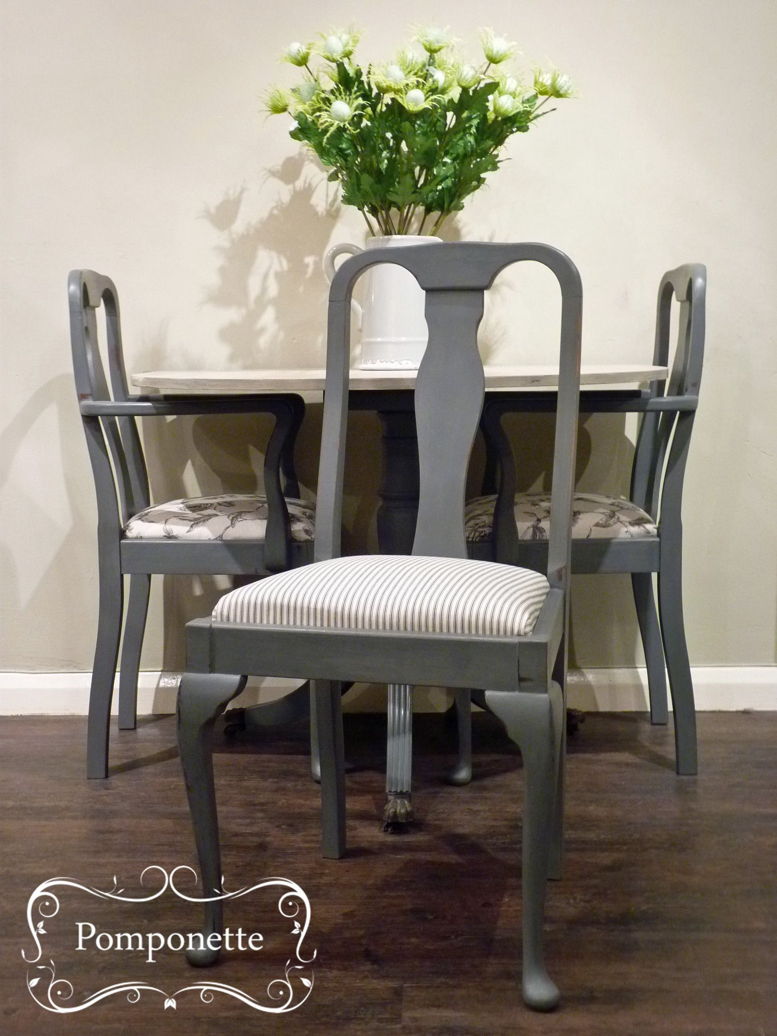 Half Moon Dining Table Set