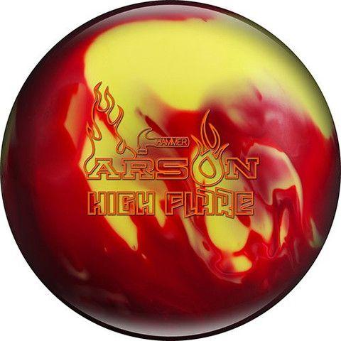Hammer Arson High Flare Bowling Bowling Ball Sports