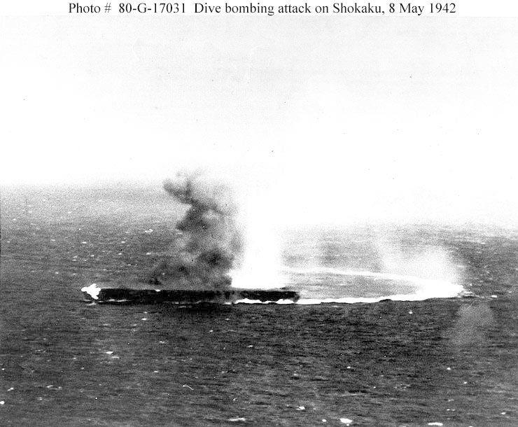 Battle of the Coral Sea | ... Vejtasa, VS-5, USS Yorktown Battle of the Coral Sea, May 4th-8th, 1942