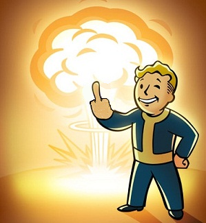 To That One Guy Still Playing Fallout Guy Fallout Art Vault Boy Fallout