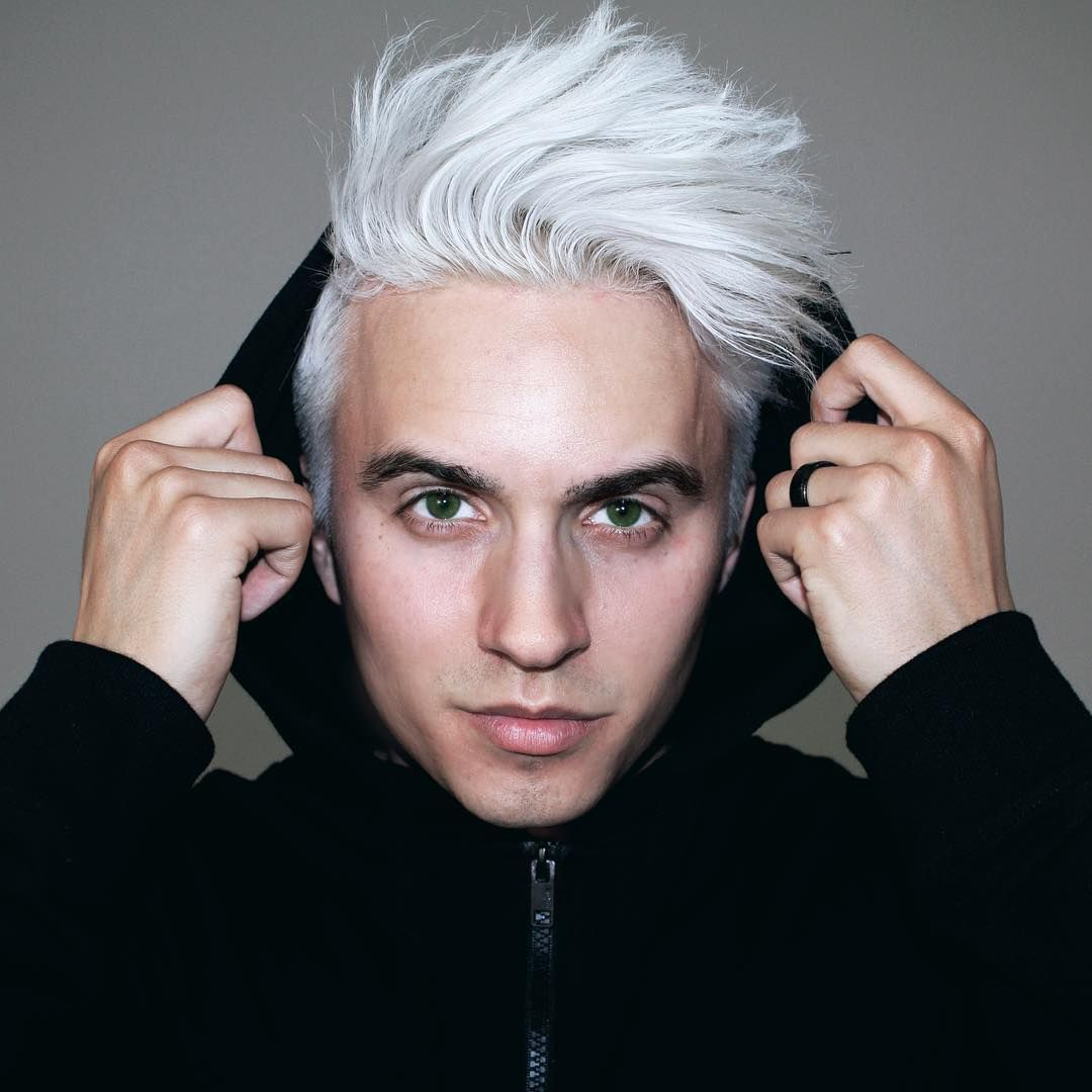 Dre Drexler On Instagram In The End It S Not The Years In Your Life That Count It S The Life In Your Years Mens Hair Colour White Hair Men Best Hair Dye