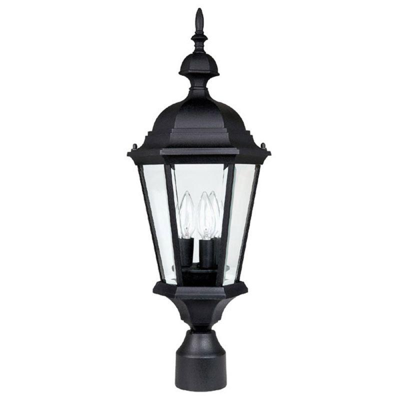 Capital Lighting 9725 Carriage House 3 Light Outdoor Post Light Black Outdoor Lighting Post Lights Post Lights