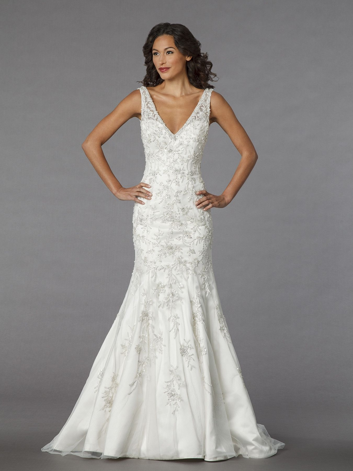 Wedding dress out of alita graham for kleinfeld style