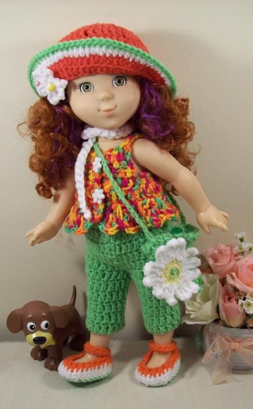 Adorable Outfit Free Crochet Pattern Pdf Download Free Crochet