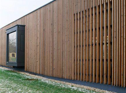 Holzrahmenbau details sockel  Holzbaupreis Burgenland - Haus an der Mauer / Forsthaus im ...