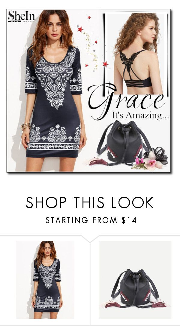 """""""SheIn 9 / XV"""" by ozil1982 ❤ liked on Polyvore featuring vintage"""