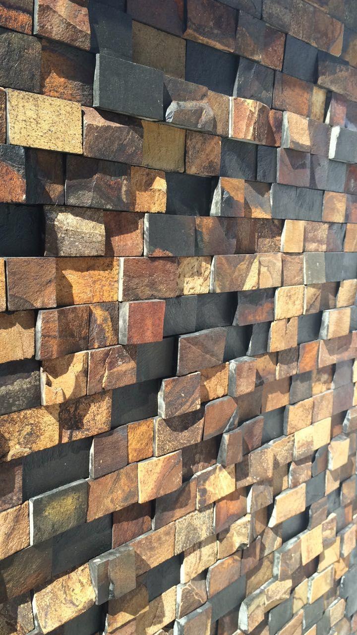 Filete De Pedra Ferro Em Diversos Modelos E Tamanhos Op Es Para  -> Parede Da Sala Com Filetes