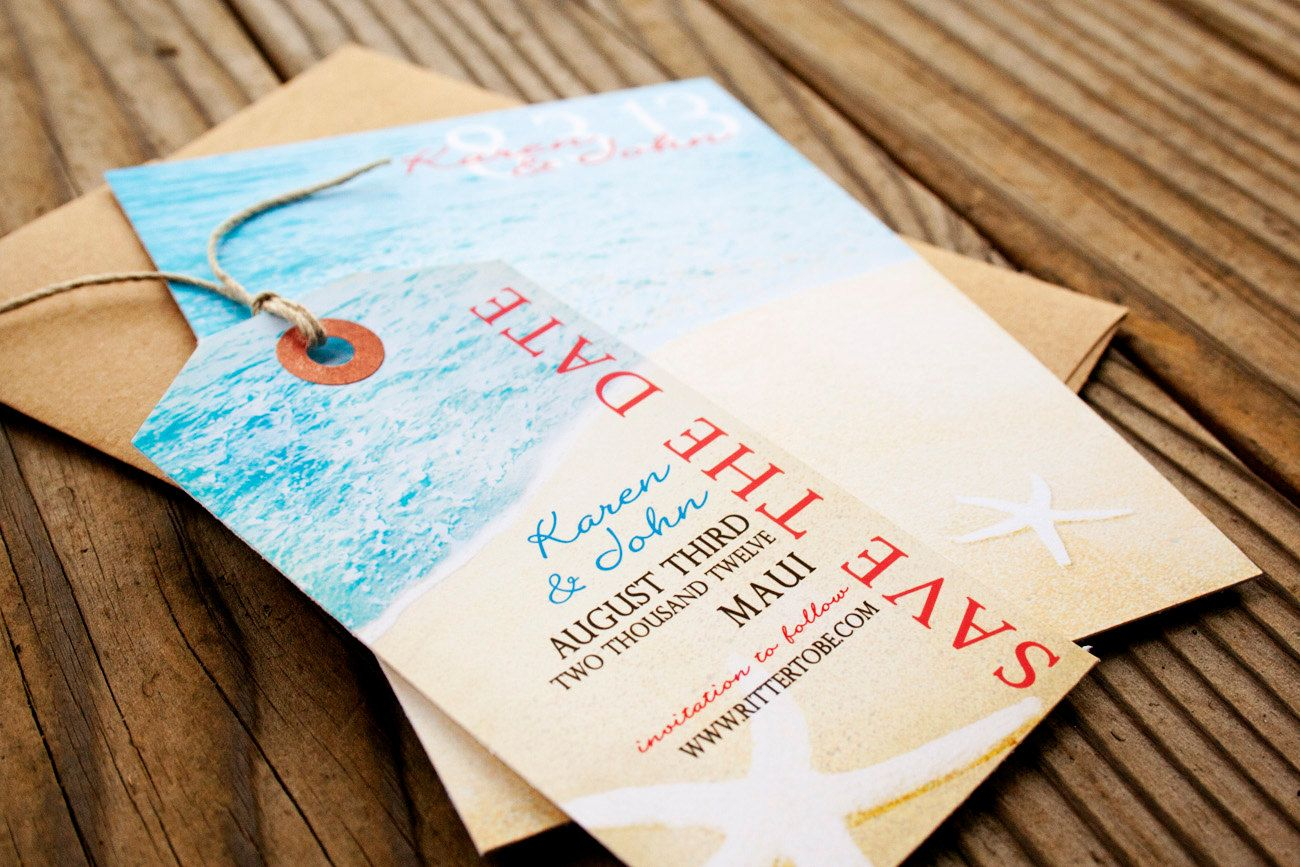 17 Best images about Save The Date Ideas – Beach Wedding Save the Date Magnets