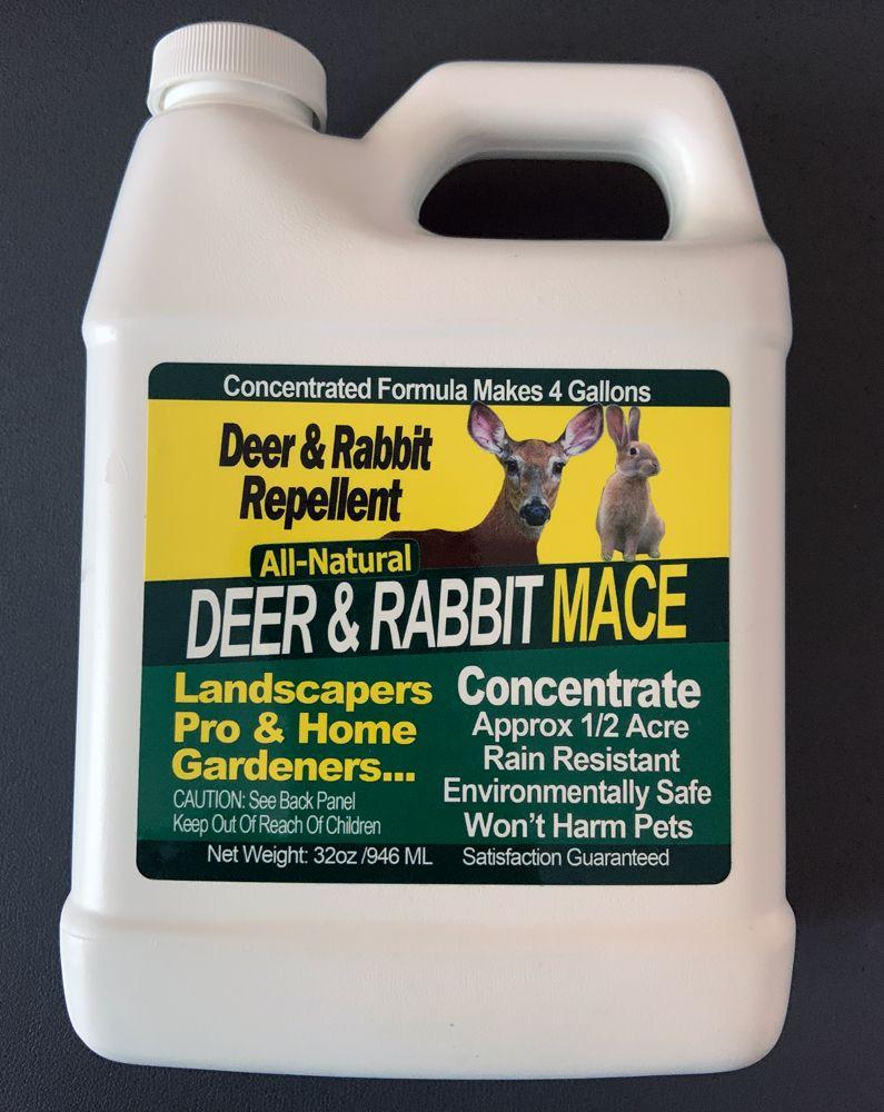 Deer rabbit repellant all natural mace makes 4 gallons